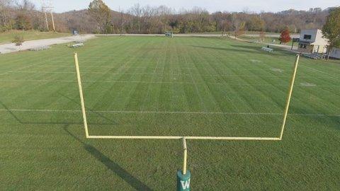 High School Football Field Aerial