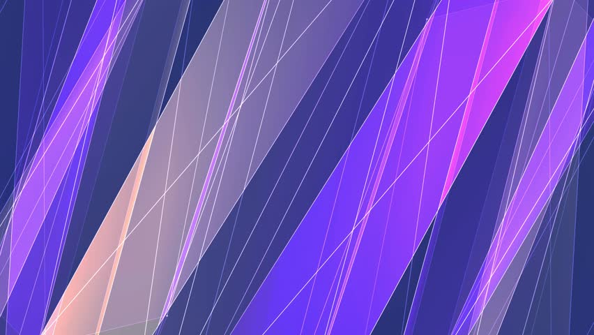 Abstract symmetrical YELLOW PURPLE poligon net lines cloud animation background new quality dynamic technology motion colorful video footage | Shutterstock HD Video #1011877844
