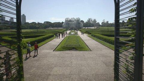 Botanical Garden of Curitiba, PR, Brazil