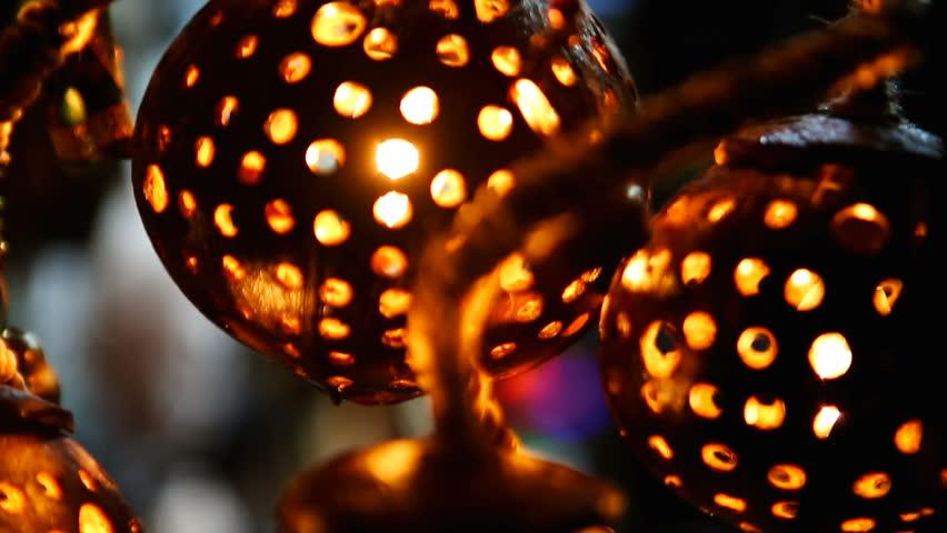 Beautiful Lights Lamps Festive Stock Footage Video 100 Royalty Free 1012111334 Shutterstock