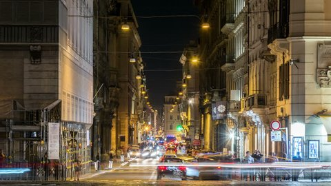 c4d09353b1a5 Roma Via Del Corso Stock Video Footage - 4K and HD Video Clips ...
