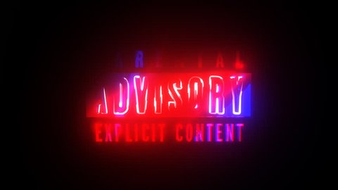Parental Advisory Explicit Content + Alpha Channel