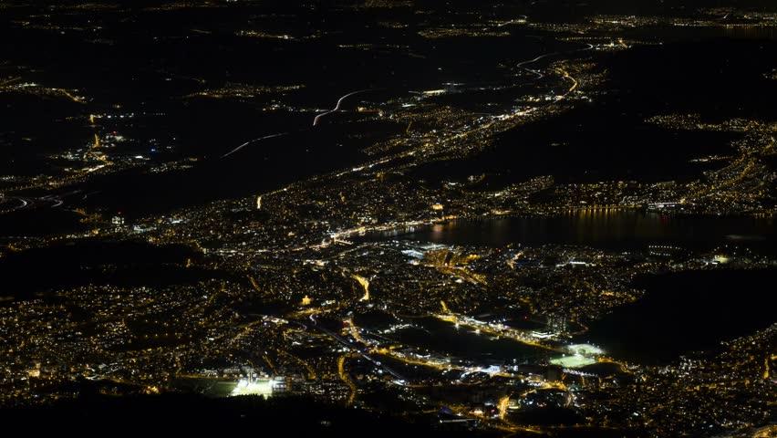 Traffic Lucerne Switzerland at night | Shutterstock HD Video #1013232434