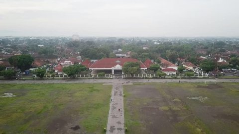 Home of the kraton on record from the sky using drones