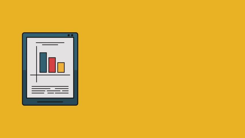 Statistics and technology HD | Shutterstock HD Video #1013564414