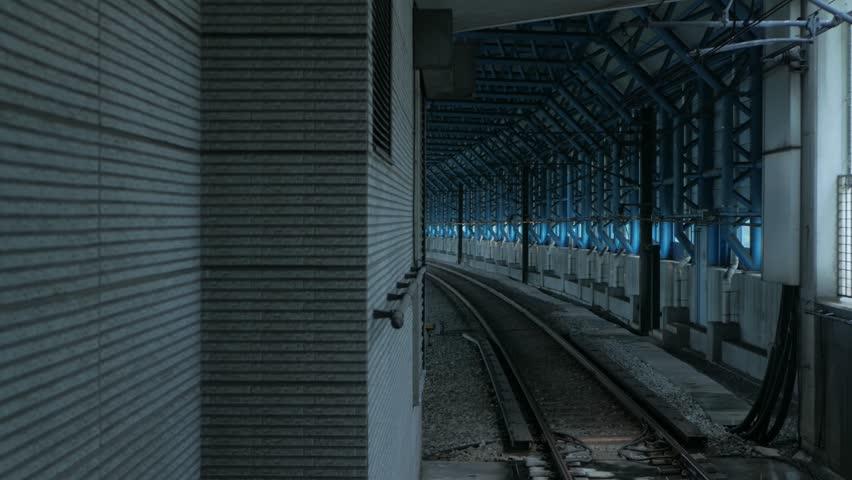 Train arriving in subway | Shutterstock HD Video #1013617394