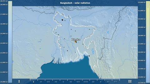 Dhaka World Map on