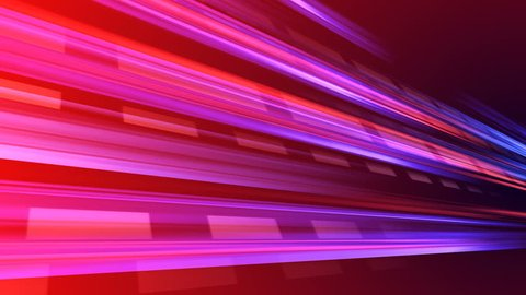 Speed Light Data Network Stream