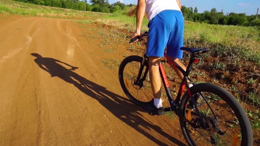 Bike sport mountain bike ride | Shutterstock HD Video #1013666984