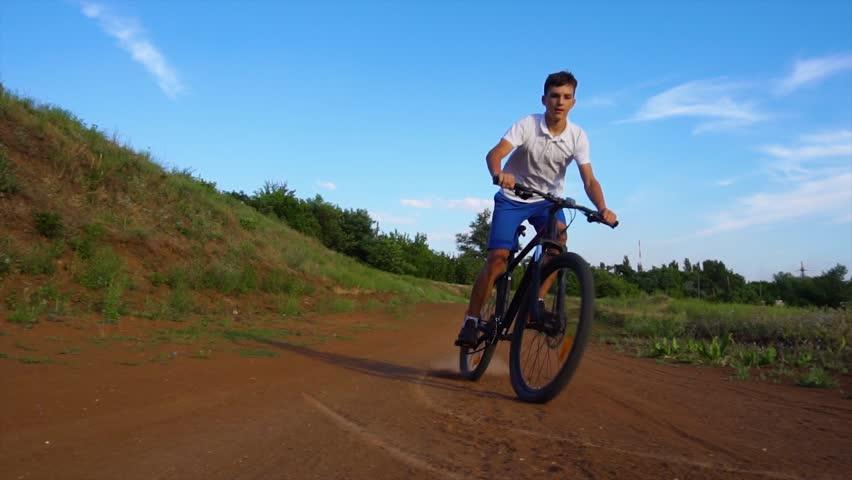 Bike sport mountain bike ride | Shutterstock HD Video #1013667224