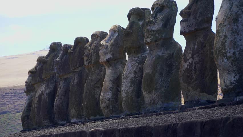 Rapa Nui Moai Statues of Chile, Easter Island