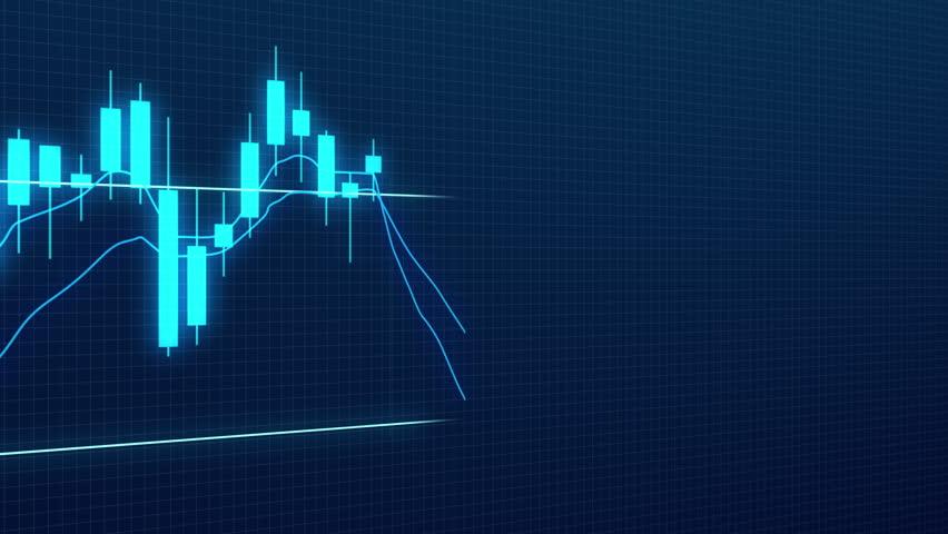 Candlestick Trading Chart Close-up   Shutterstock HD Video #1013830034