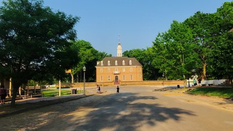 Historic Colonial Williamsburg Capitol Building
