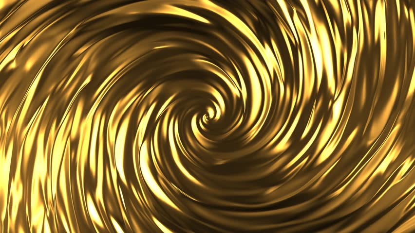 Animation of flow golden liquid with animated reflections. Wave and ripple on gold surface.  Abstract golden wave pattern background animation | Shutterstock HD Video #1013989214
