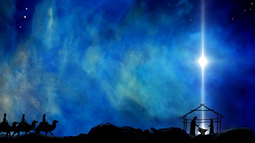 Nativity of Jesus Star Of Bethlehem  | Shutterstock HD Video #1014026654