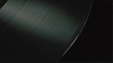 Dark Abstract Vinyl Record Texture Shape