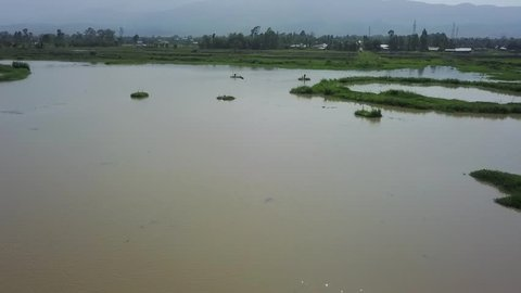 Fishing at Loktak Lake