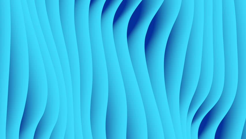 Colorful wave gradient loop animation. Future geometric patterns motion background. 3d rendering. 4k UHD | Shutterstock HD Video #1014360074