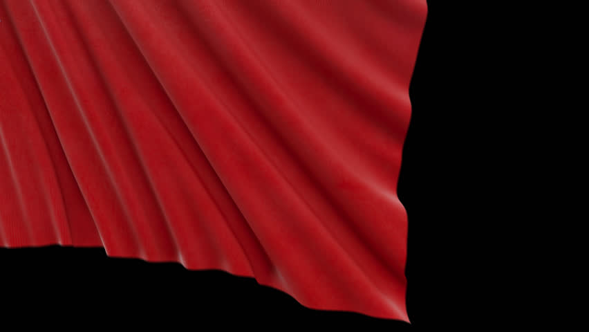 Red Cloth Reveal | Shutterstock HD Video #1014370724