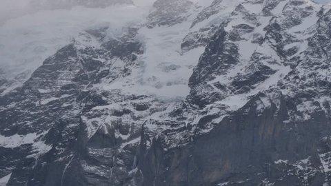 Schreckhorn Peak from Grindelwald First, Bernese Oberland, Canton of Bern, Switzerland, Europe