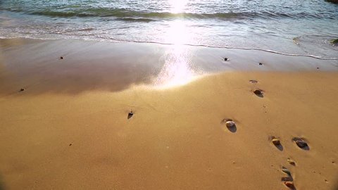 Slow motion of wave from The Pacific Ocean in Puerto Vallarta, located between Jalisco and Nayarit states, Mexico.