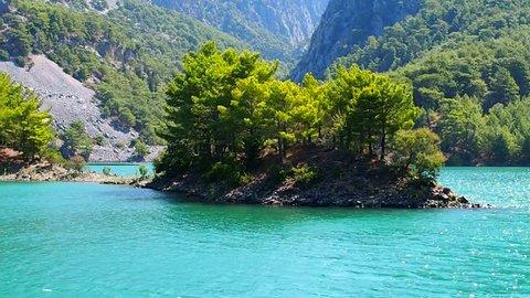 Green canyon, Turkey