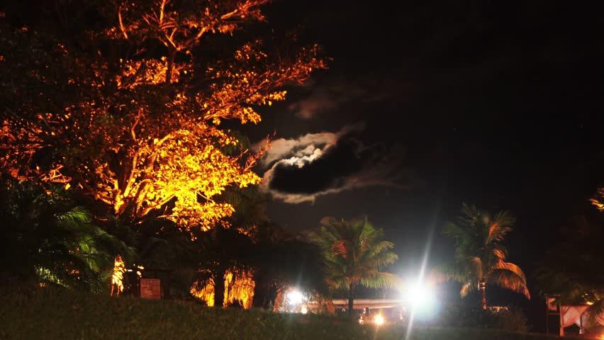 Trancoso - BA - Brazil - TimeLapse by night on the beach  | Shutterstock HD Video #1015150054