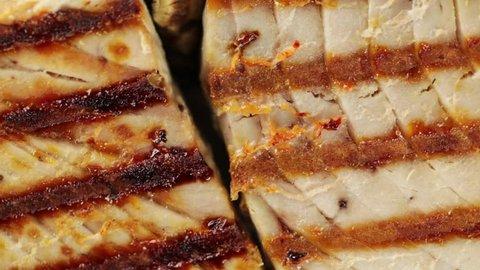 Slice of tuna fish