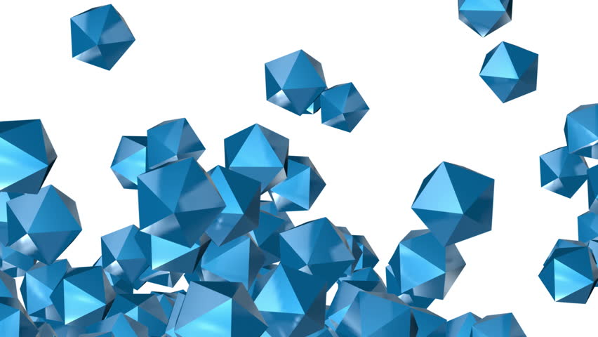 4k Abstract 3d polyhedron space diamonds gems ores crystals candy particle design technology art background. cg_04408_4k | Shutterstock HD Video #1015469044