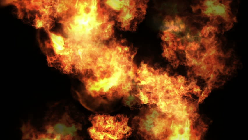 4k Hot fire burning background,Abstract powerful explosion particle smoke power firework energy. cg_04497_4k