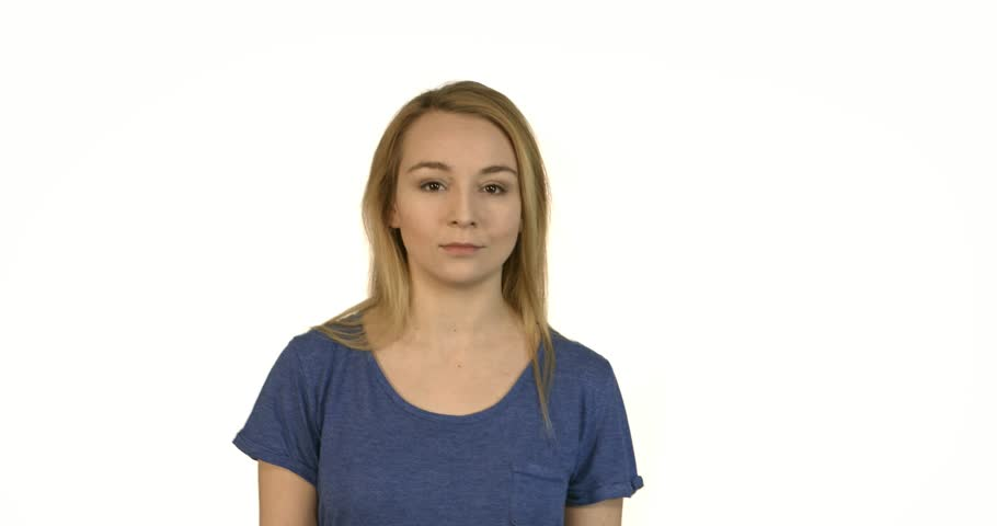 Woman heaving big headache. Studio shoot. | Shutterstock HD Video #1015634374