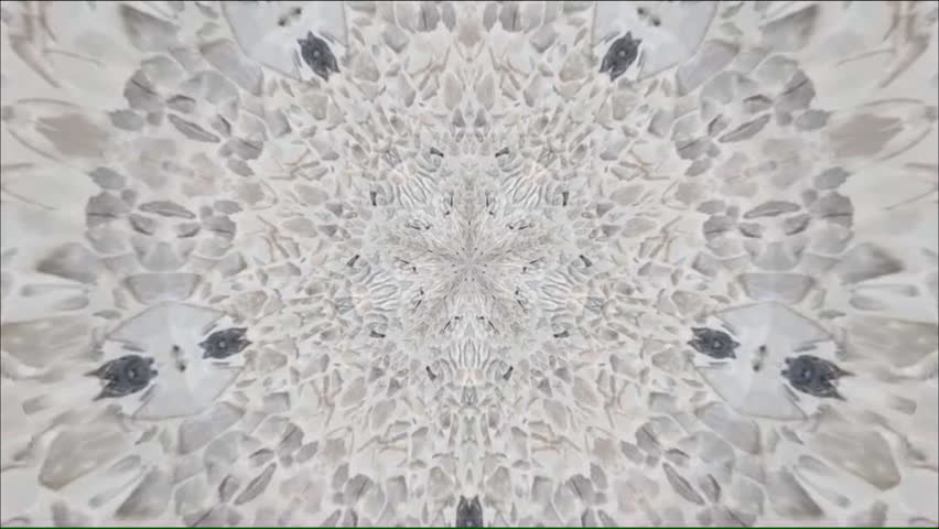 Surreality abstract kaleidoscope background footage for creative design