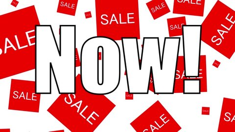 Commercial Advertisement - Our 2 Day Shopping Sale Starts Now Ad