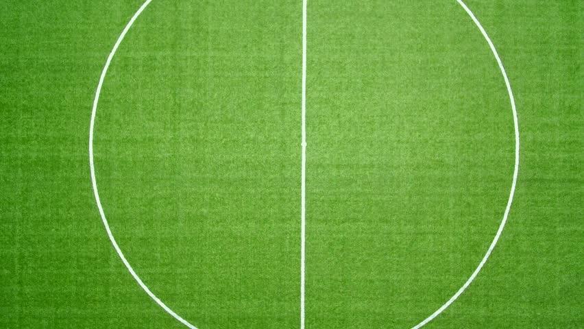 soccer stadium in aerial view #1015789624