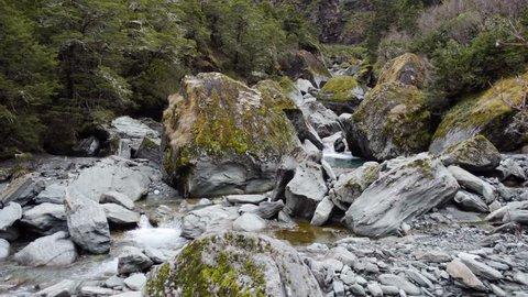 Rob Roy Glacier Walk Waterfall