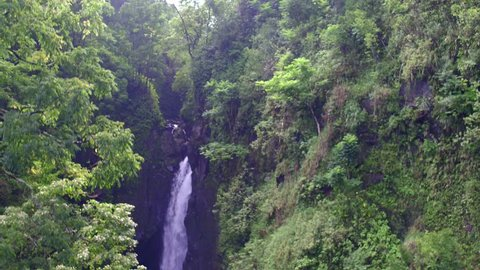 Maui Waterfalls on the Road to Hana Maui Hawaii 4k drone video of Hawai'i you can't see from the road