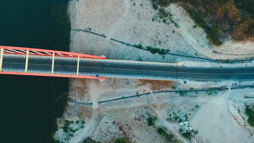 Aerial Samota Bridge in Sumbawa | Shutterstock HD Video #1016476504