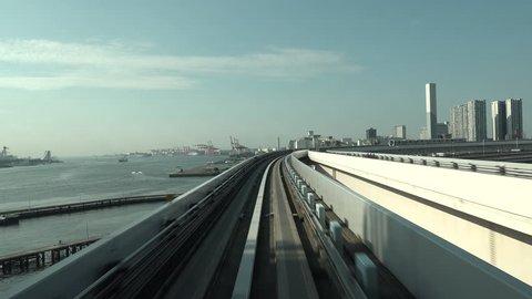 views from the Tokyo city subway