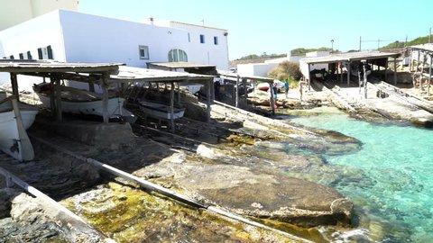Formentera Island & Ibiza. Nature Beach Turquoise Water Paradise