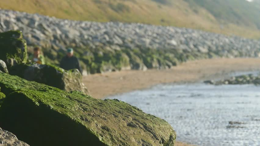 Caldy Beach in the Wirral Peninsula