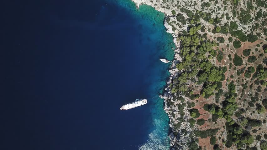 Greek islands sailings drone videos