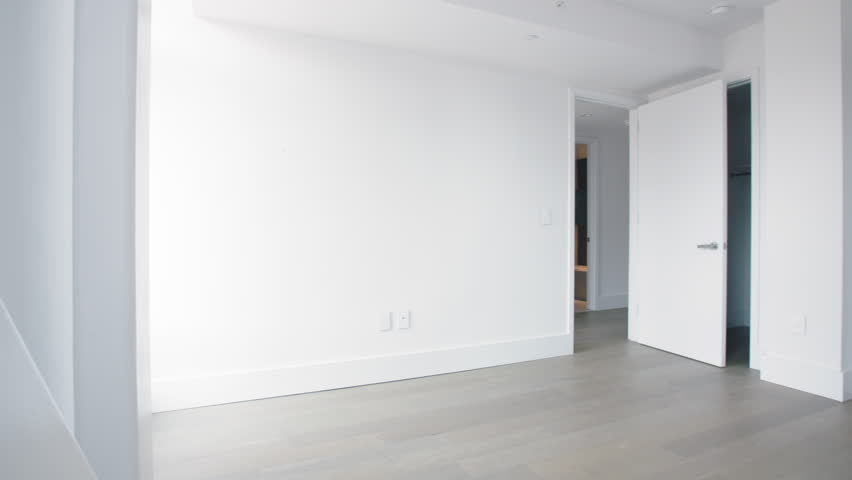 Empty Bedroom In A Manhattan Stock Footage Video 100 Royalty