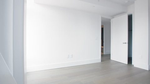 Empty Bedroom in a Manhattan Apartment