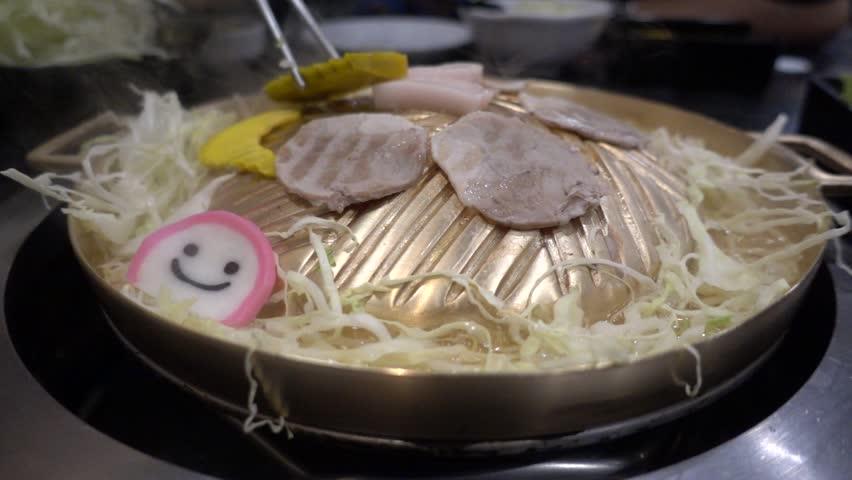 Thai Barbecue Buffet Moo Kratha