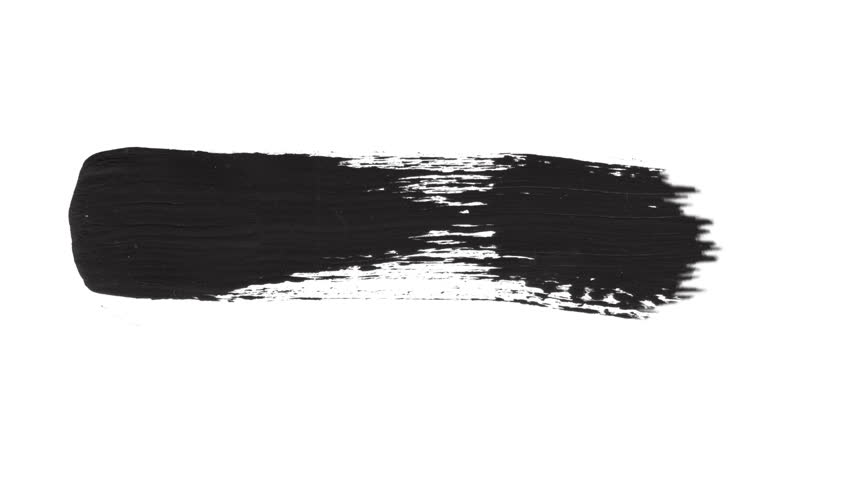 Watercolor ink Brush Stroke Set on white and black background. Perfect for motion graphics, digital composition. Perfect for masks, transitions, fades, mattes, reveals,. 4K, UHD, HD, 1080p | Shutterstock HD Video #1017724924