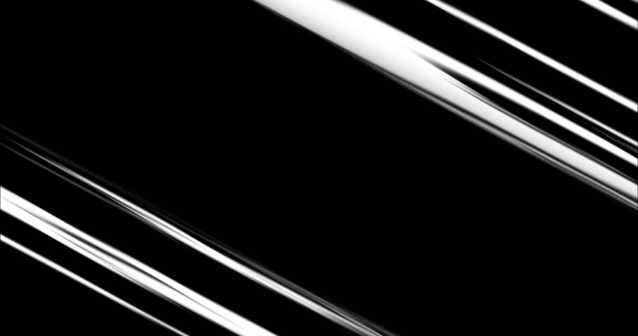 Comic Speed lines in Black&White. 4 different action speedline inspired by japanese Anime, diagonal, horizontal, vertical anda radial. | Shutterstock HD Video #1018003984