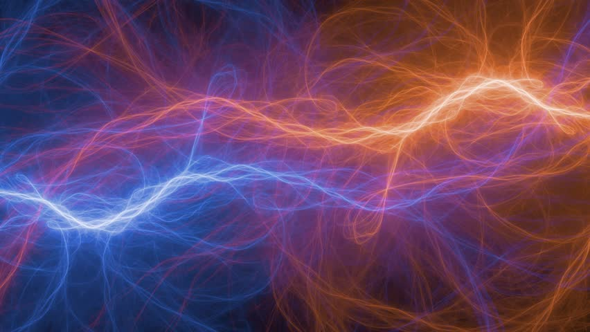 Abstract Fire And Ice Lightning Stock Footage Video 100 Royalty Free 1018121914 Shutterstock