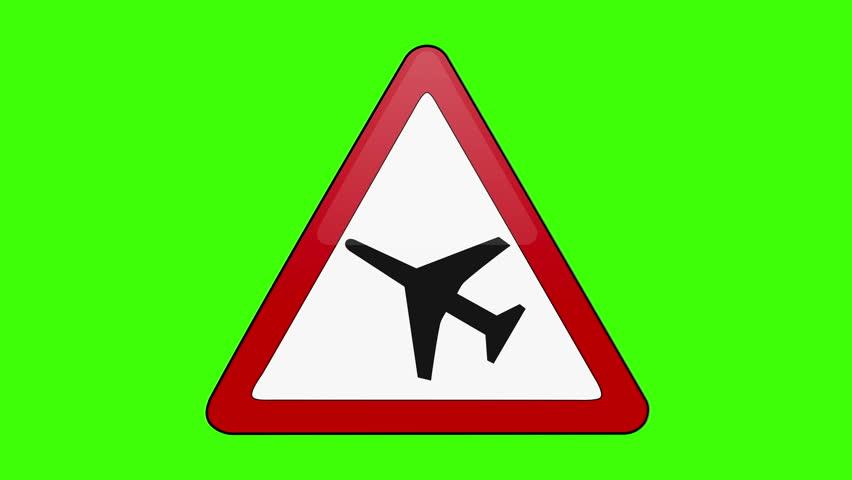 Symbol Airport Runway Green Screen   Shutterstock HD Video #1018173664