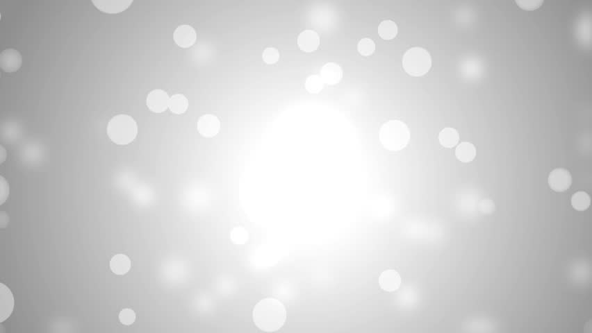Lights silver bokeh background. High Definition abstract motion backgrounds ideal for editing. Elegant abstract. Christmas Animated Background. loop able abstract background circles.  | Shutterstock HD Video #10185026