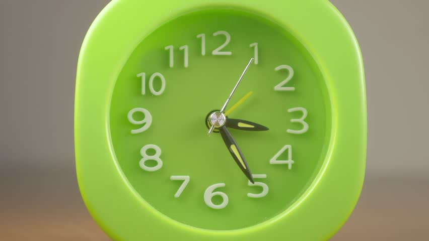 Phosphorescent green clock beats fast time-timelapse-Time passing fastly,concept | Shutterstock HD Video #1019014954
